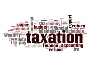 Handing financial and taxation matters