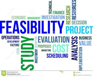 We conduct feasibility studies